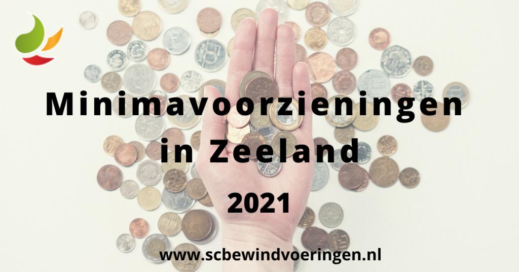 Minimavoorzieningen in Zeeland 2021